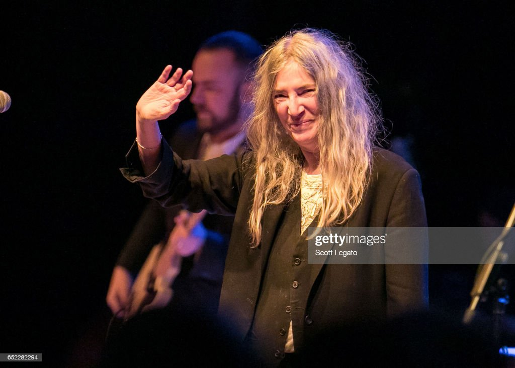 Patti Smith In Concert - Royal Oak, MI