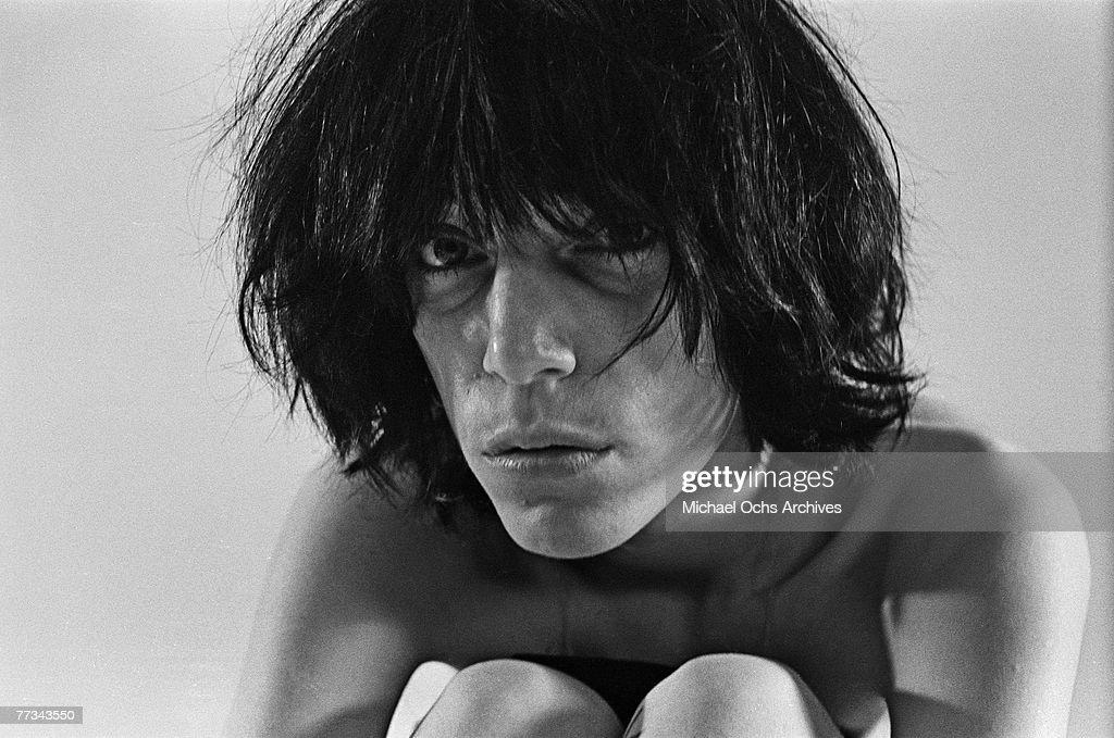 Patti Smith poses for a portrait in November 1974 in Los Angeles California.