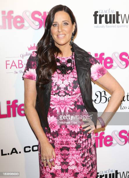 Patti Stanger arrives at Life Style presents 'Hollywood In Bright Pink' held at Bagatelle on October 9 2013 in Los Angeles California