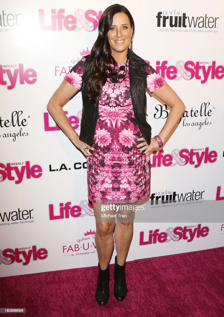 <a gi-track='captionPersonalityLinkClicked' href=/galleries/search?phrase=Patti+Stanger&family=editorial&specificpeople=5446458 ng-click='$event.stopPropagation()'>Patti Stanger</a> arrives at Life & Style presents 'Hollywood In Bright Pink' held at Bagatelle on October 9, 2013 in Los Angeles, California.