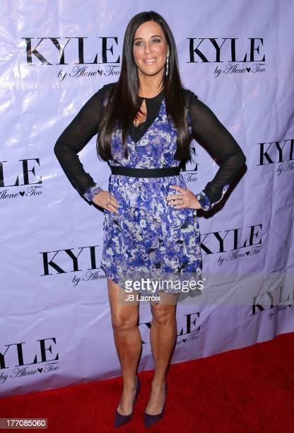 Patti Stanger attends the Have Faith Swimgerie by Lilly Ghalichi and Jennifer Stano David 2014 collection preview held at Kyle by Alene Too on August...