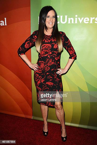 Patti Stanger attends the NBCUniversal 2015 press tour at The Langham Huntington Hotel and Spa on January 15 2015 in Pasadena California