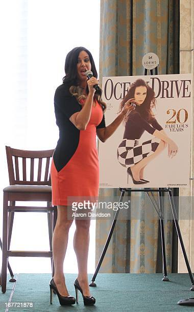 Patti Stanger greets fans and signs copies of her book 'Become Your Own Matchmaker 8 Easy Steps for Attracting Your Perfect Mate' at Loews Miami...