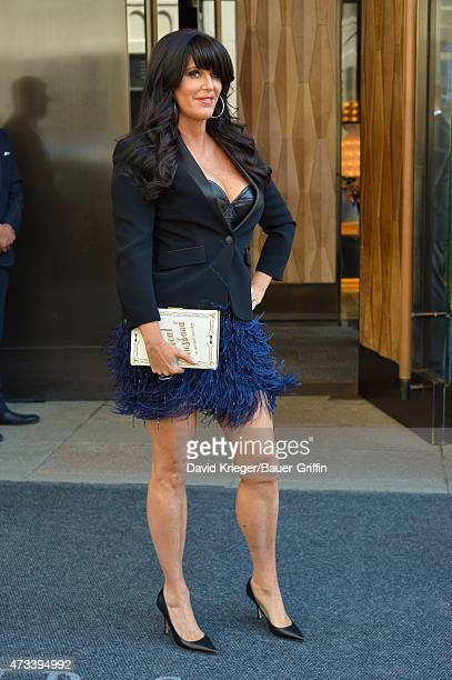 Patti Stanger is seen departing the Jacob Javits Center on May 14 2015 in New York City