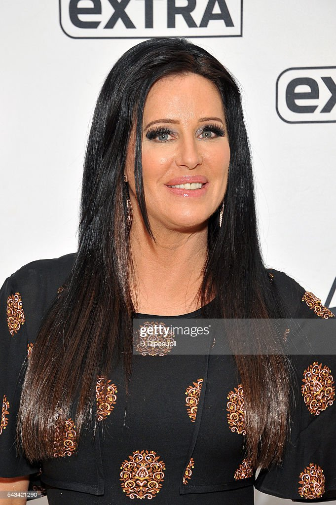 Patti Stanger visits 'Extra' at their New York studios at H&M in Times Square on June 28, 2016 in New York City.