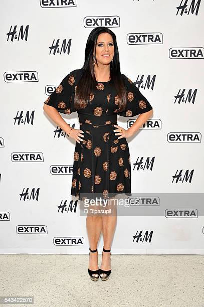 Patti Stanger visits 'Extra' at their New York studios at HM in Times Square on June 28 2016 in New York City