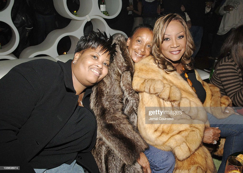 Patti Webster Cassie Johnson and Patti LaBelle during Tanqueray Presents 'Mike Epps On the Edge' Comedy Tour KickOff Party at The Newspace in New...