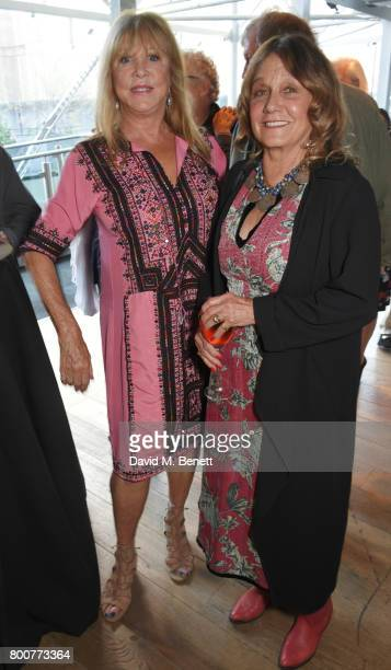 Pattie Boyd and Donna Peacock attend the BFI Southbank's tribute to Sir John Hurt on June 25 2017 in London England