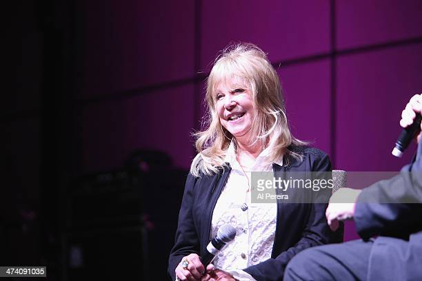 Pattie Boyd is interviewed as she attends Fest For Beatles Fans 2014 at Grand Hyatt New York on February 8 2014 in New York City