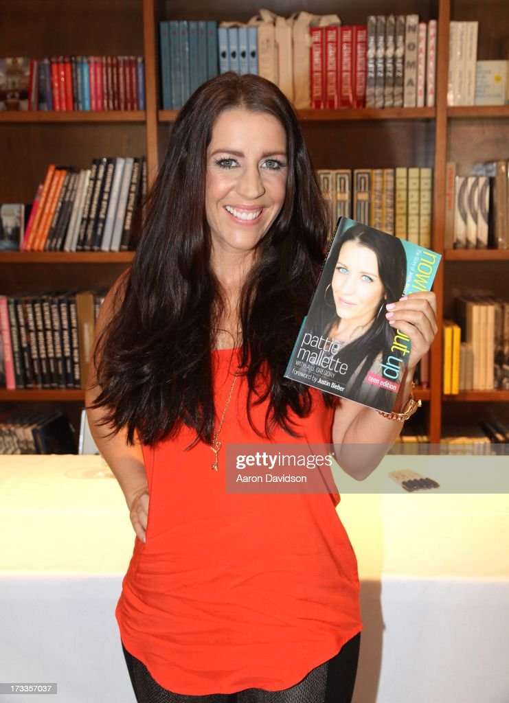 Pattie Mallett signs copies of her book 'Nowhere But Up' at Books and Books on July 12 2013 in Coral Gables Florida