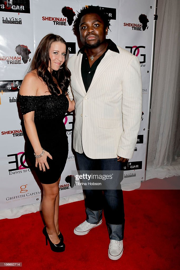 <a gi-track='captionPersonalityLinkClicked' href=/galleries/search?phrase=Pattie+Mallette&family=editorial&specificpeople=6718278 ng-click='$event.stopPropagation()'>Pattie Mallette</a> and Sunu Gonera attend the Shekinah Tribe charity film fundraiser hosted by <a gi-track='captionPersonalityLinkClicked' href=/galleries/search?phrase=Pattie+Mallette&family=editorial&specificpeople=6718278 ng-click='$event.stopPropagation()'>Pattie Mallette</a> at Writers Guild Theater on November 17, 2012 in Beverly Hills, California.