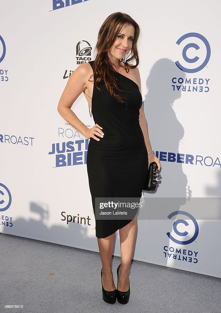 Pattie Mallette attends the Comedy Central Roast Of Justin Bieber on March 14 2015 in Los Angeles California