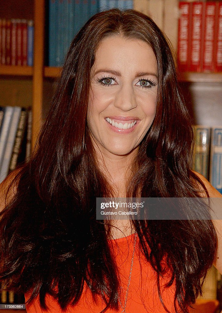 Pattie Mallette greets fans and signs copies of her book 'Nowhere But Up - Teen Edition'at Books and Books on July 12, 2013 in Coral Gables, Florida.