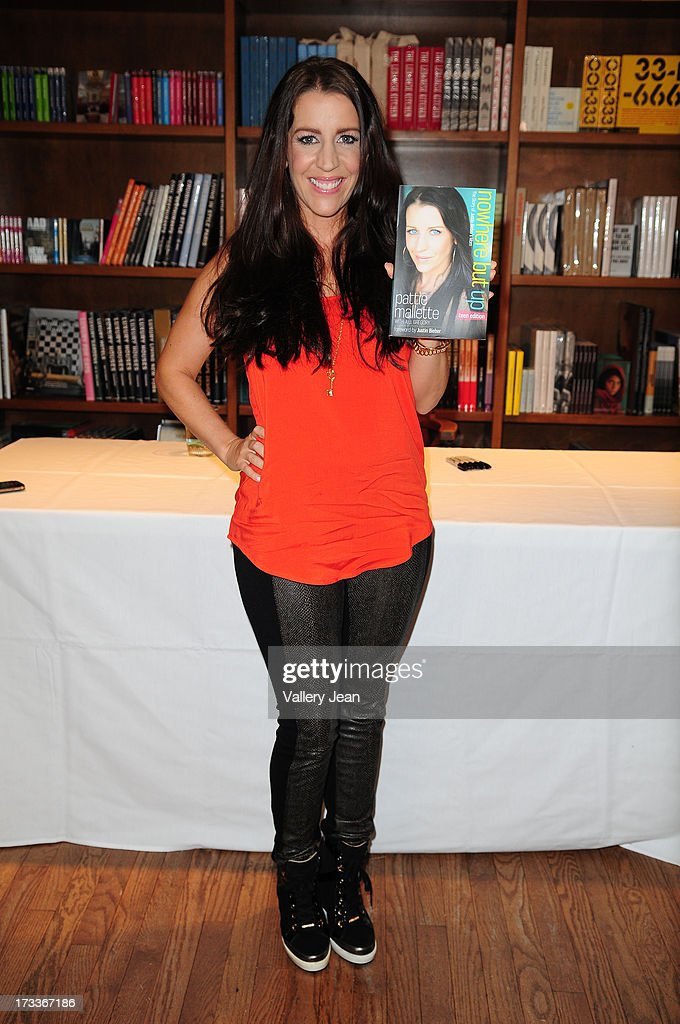 Pattie Mallette mother of Justin Bieber signs copies of her book 'Nowhere But Up Teen Edition' at Books and Books on July 12 2013 in Coral Gables...