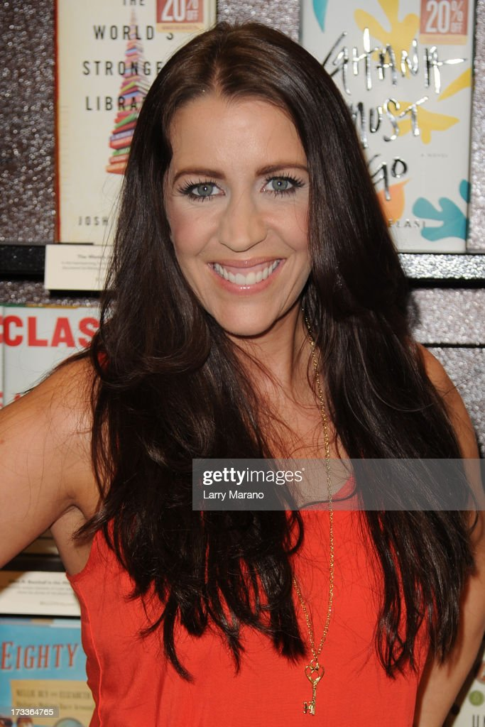 Pattie Mallette signs copies of 'Nowhere But Up' at Barnes & Noble on July 12, 2013 in Fort Lauderdale, Florida.