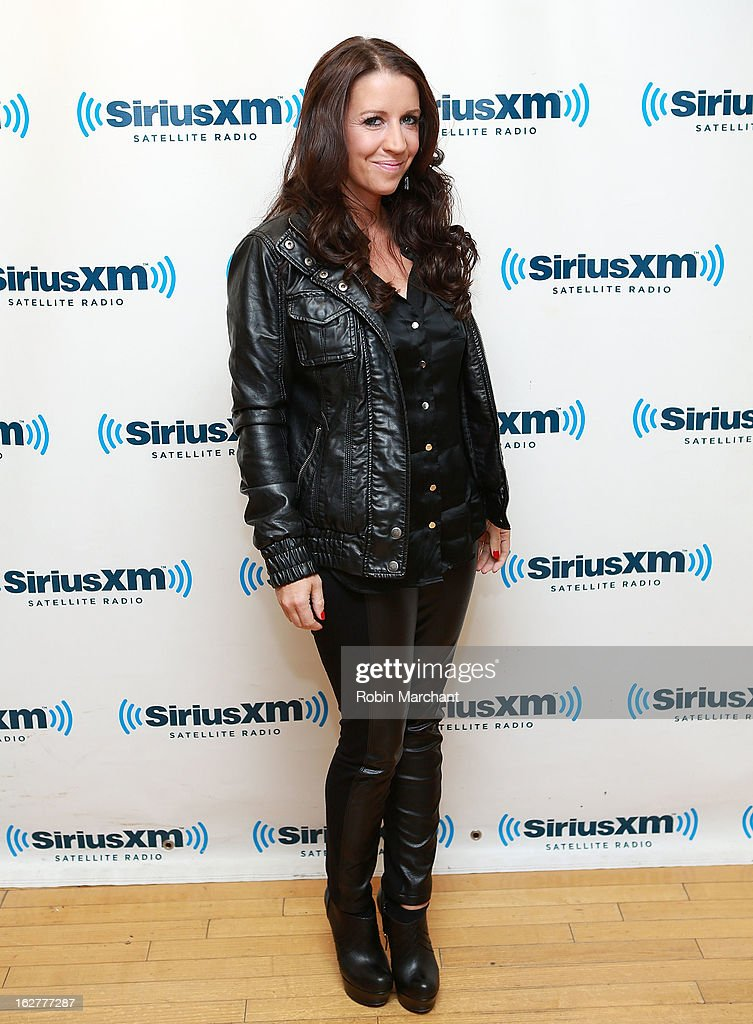 Pattie Mallette visits at SiriusXM Studios on February 26, 2013 in New York City.