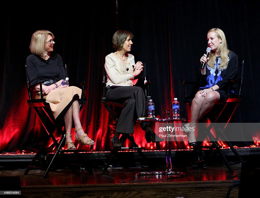 Pattie Sellers Susan Lyne and Alexandra Wilkis Wilson speak onstage at The Evolution of a Brand Careers during AWXI on October 2 2014 in New York City