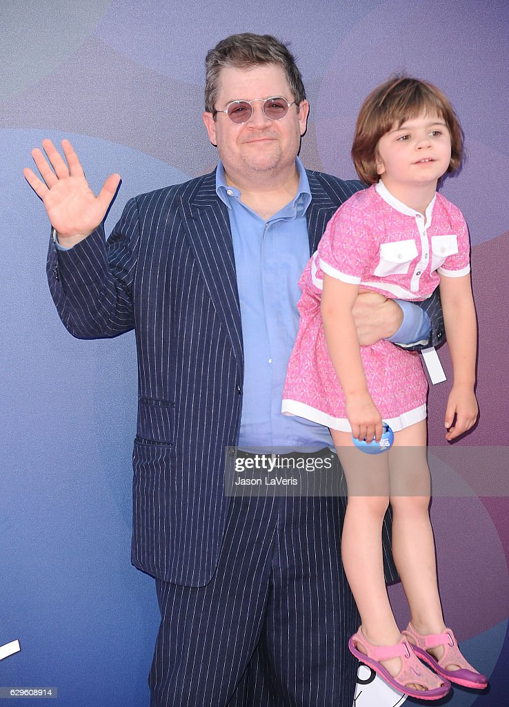 Patton Oswalt and daughter Alice Oswalt attend the premiere of 'Inside Out' at the El Capitan Theatre on June 8, 2015 in Hollywood, California.