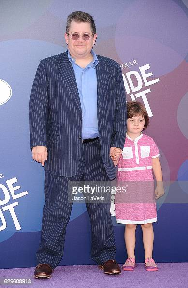 Patton Oswalt and daughter Alice Oswalt attend the premiere of 'Inside Out' at the El Capitan Theatre on June 8 2015 in Hollywood California