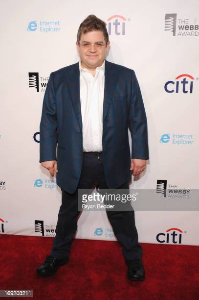 Patton Oswalt attends the 17th Annual Webby Awards at Cipriani Wall Street on May 21 2013 in New York City