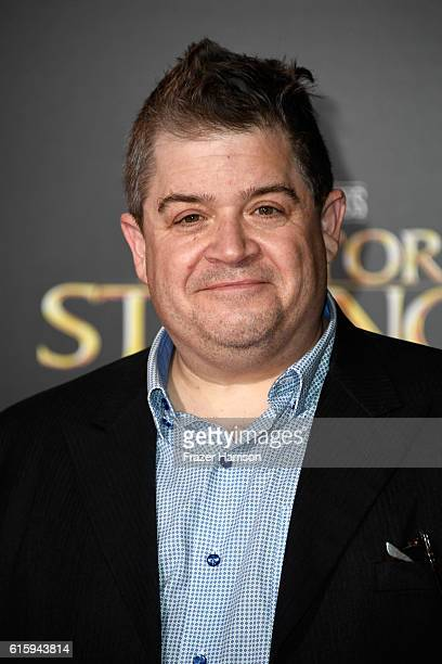 Patton Oswalt attends the premiere of Disney and Marvel Studios' 'Doctor Strange' at the El Capitan Theatre on October 20 2016 in Hollywood California