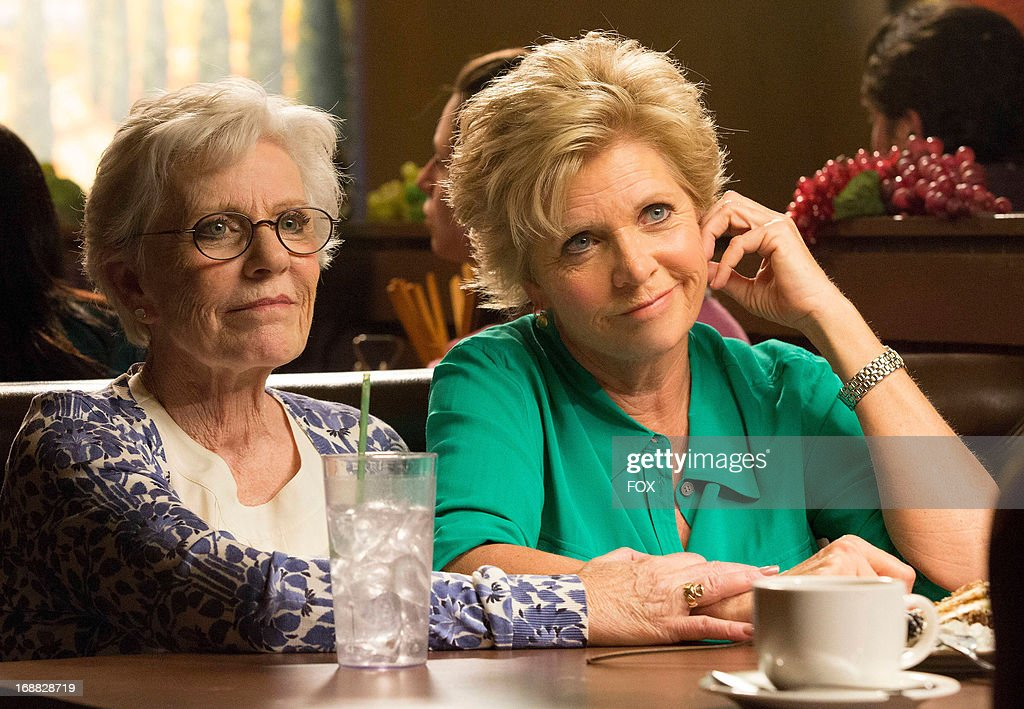 Patty Duke (L) and Meredith Baxter guest-star in the 'All or Nothing' episode of GLEE airing Thursday, May 9, 2013 (9:00-10:00 PM ET/PT) on FOX.