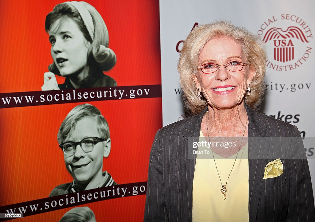 <a gi-track='captionPersonalityLinkClicked' href=/galleries/search?phrase=Patty+Duke&family=editorial&specificpeople=93921 ng-click='$event.stopPropagation()'>Patty Duke</a> attends the Social Security reunion of the cast of 'The <a gi-track='captionPersonalityLinkClicked' href=/galleries/search?phrase=Patty+Duke&family=editorial&specificpeople=93921 ng-click='$event.stopPropagation()'>Patty Duke</a> Show' at The Paley Center for Media on March 23, 2010 in Beverly Hills, California.