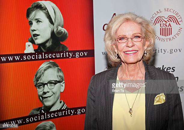 Patty Duke attends the Social Security reunion of the cast of 'The Patty Duke Show' at The Paley Center for Media on March 23 2010 in Beverly Hills...