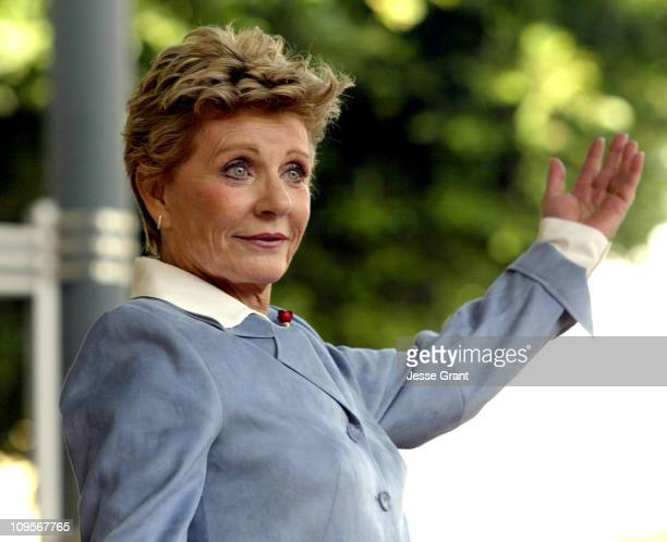 Patty Duke during Patty Duke Honored with a Star on the Hollywood Walk of Fame for Her Achievements in Film at 7000 Hollywood Blvd in Hollywood...