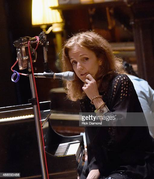 Patty Griffin performs at the 16th Annual Americana Music Festival Conference Day 2 NPR hosts 'SONGS WE LOVE at RCA Grand Victor Studio A on...