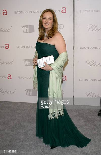 Patty Hearst during 15th Annual Elton John AIDS Foundation Oscar Party at Pacific Design Center in Los Angeles California United States