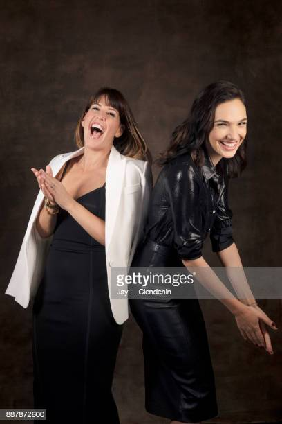 Patty Jenkins and Gal Gadot are photographed for Los Angeles Times on October 30 2017 in Los Angeles California PUBLISHED IMAGE CREDIT MUST READ Jay...