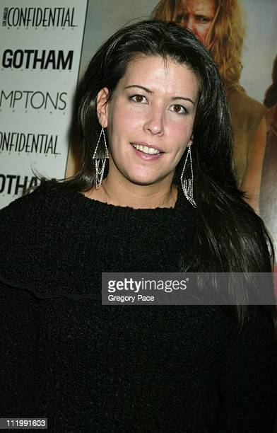 Patty Jenkins director during 'Monster' New York Premiere Inside Arrivals at The Clearview Chelsea West Theater in New York City New York United...
