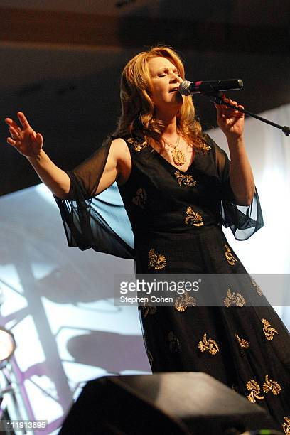 Patty Loveless attends the 2011 Kentucky Music Hall of Fame and Museum Induction at the Lexington Center Bluegrass Ballroom on April 7 2011 in...