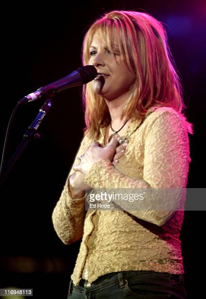 Patty Loveless during Patty Loveless Performs at Fan Fair 2003 Nashville at The Coliseum in Nashville Tennessee United States