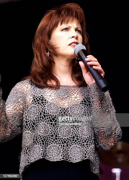 Patty Loveless performs as part of Countryfest at Shoreline Amphitheatre on May 22 1994 in Mountain View California