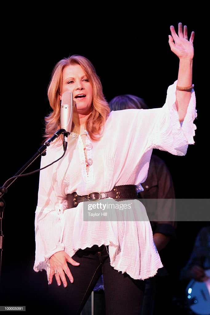 Patty Loveless performs during the Music Saves Mountains benefit concert at the Ryman Auditorium on May 19, 2010 in Nashville, Tennessee.