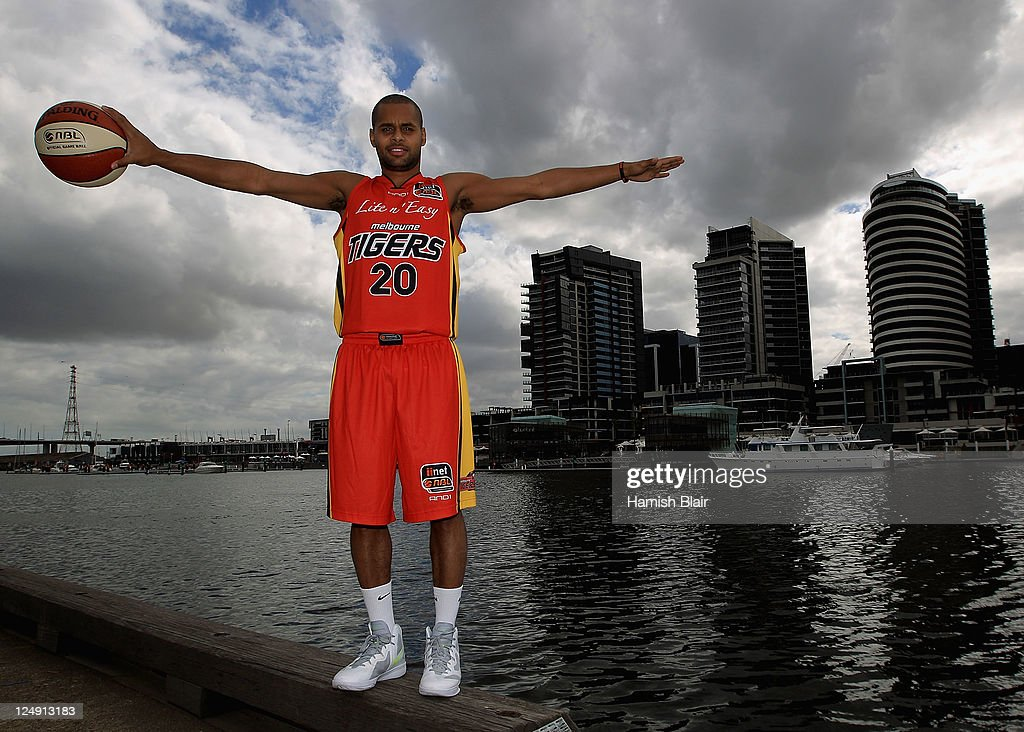 Patty Mills of the Melbourne Tigers poses for a photo during the 2011/12 NBL season launch at MAIA, Central Pier 15, on September 14, 2011 in Melbourne, Australia.