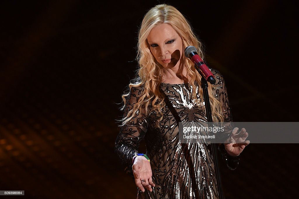 <a gi-track='captionPersonalityLinkClicked' href=/galleries/search?phrase=Patty+Pravo&family=editorial&specificpeople=2471956 ng-click='$event.stopPropagation()'>Patty Pravo</a> attends second night of the 66th Festival di Sanremo 2016 at Teatro Ariston on February 10, 2016 in Sanremo, Italy.