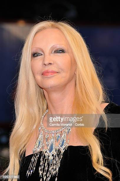 Patty Pravo attends the Kineo Diamanti Award Ceremony during the 73rd Venice Film Festival at on September 4 2016 in Venice Italy
