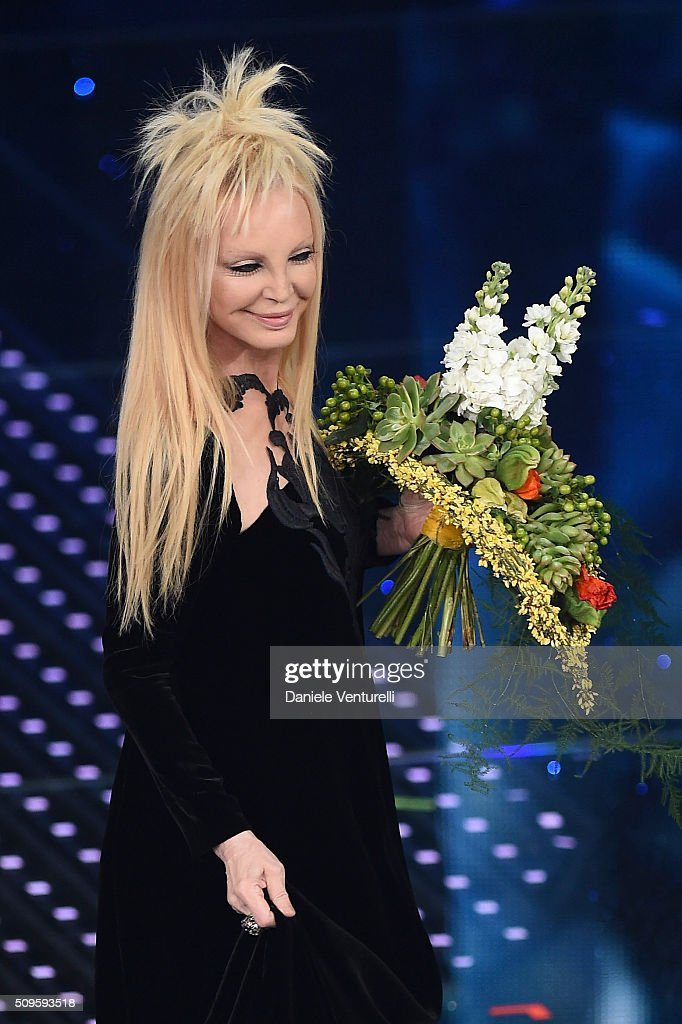<a gi-track='captionPersonalityLinkClicked' href=/galleries/search?phrase=Patty+Pravo&family=editorial&specificpeople=2471956 ng-click='$event.stopPropagation()'>Patty Pravo</a> attends the third night of the 66th Festival di Sanremo 2016 at Teatro Ariston on February 11, 2016 in Sanremo, Italy.