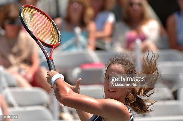 Patty Schnyder falls to Svetlana Kuznetsova in the quarterfinals 63 61 during the 2006 WTA Bausch and Lomb Championship at Amelia Island Plantation...