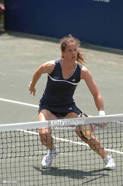 Patty Schnyder falls to Svetlana Kuznetsova in the quarterfinals 63 61 during the 2006 WTA Bausch and Lomb Championship at Amelia Island Plantationon...
