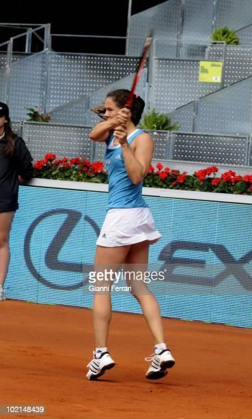 Patty Schnyder SUI tennis in 'Mutua Madrilena Madrid Open' 8th May 2010 in 'La Caja Magica' Madrid Spain