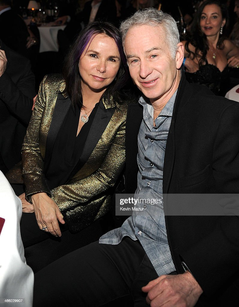 Patty Smyth and John McEnroe attend 'Howard Stern's Birthday Bash' presented by SiriusXM, produced by Howard Stern Productions at Hammerstein Ballroom on January 31, 2014 in New York City.