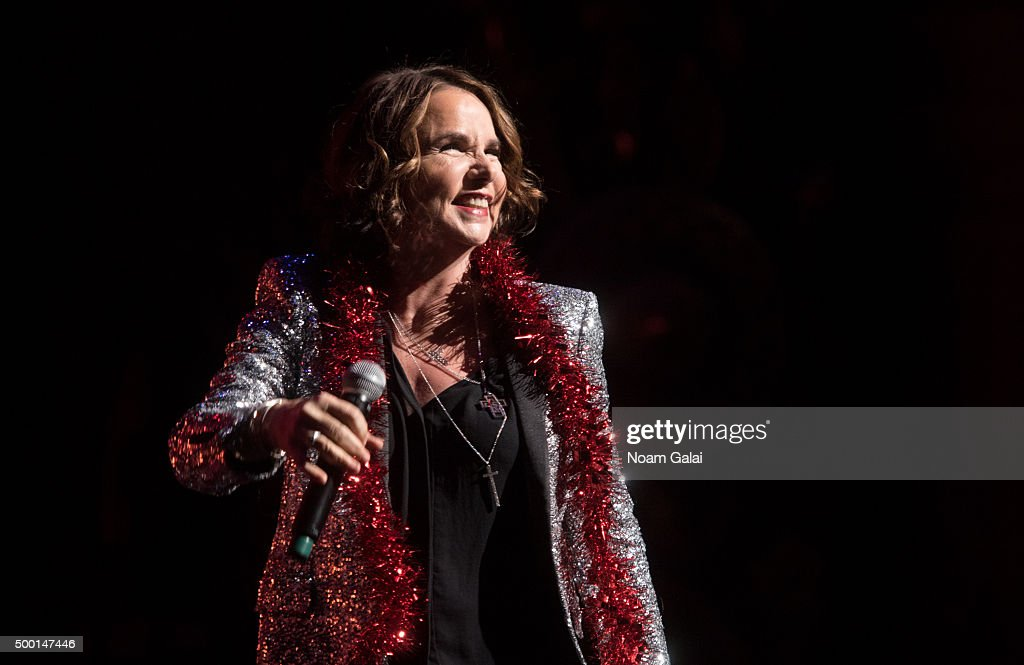 Patty Smyth performs at the 5th Annual 'Cyndi Lauper and Friends: Home For The Holidays' benefit concert at The Beacon Theatre on December 5, 2015 in New York City.