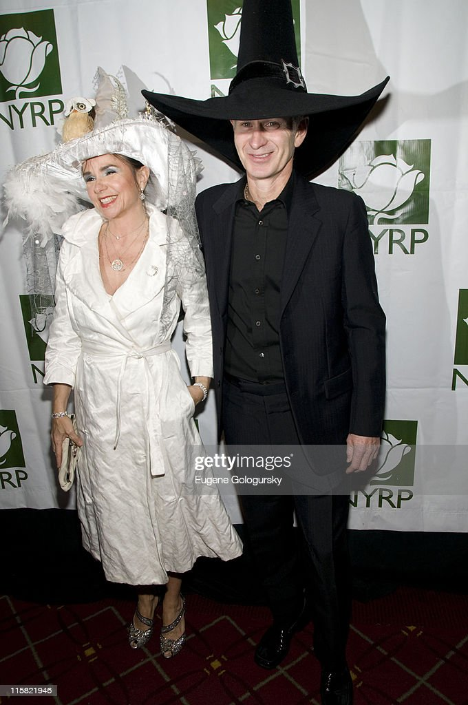 Patty Smythe and John McEnroe attend the 13th Annual Bette Midler's New York Restoration Project's Hulaween at the Waldorf-Astoria on October 31, 2008 in New York City.