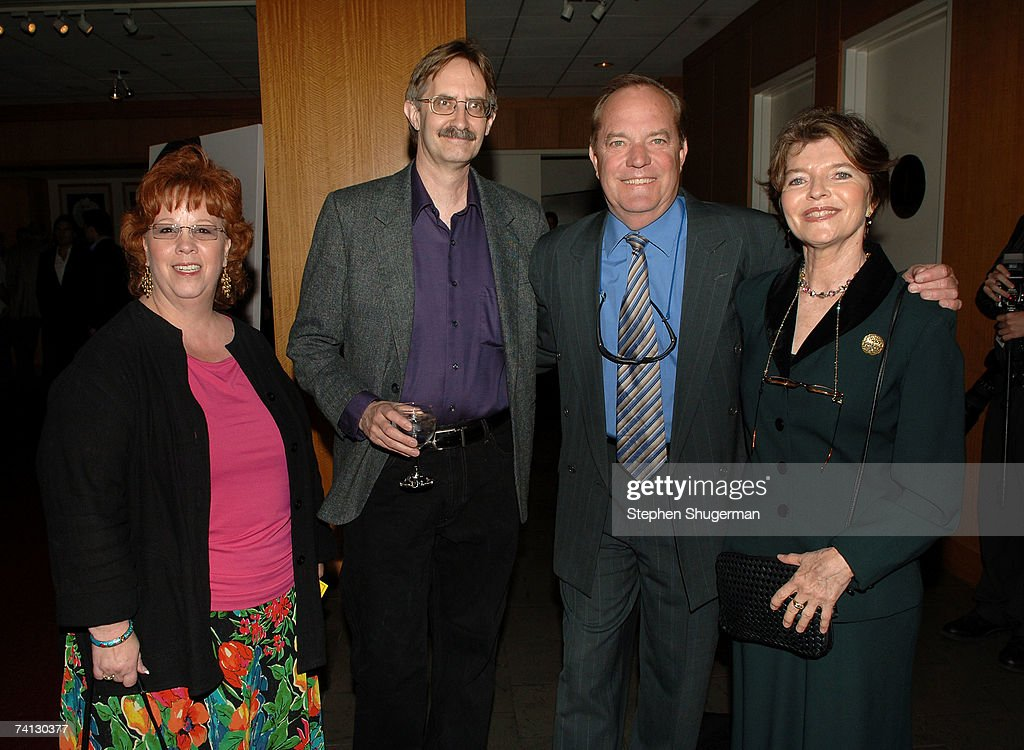 Patty Tobias, historian Howard Kractie, grandchildren of W.C. Fields Ronald Fields and Harriet Fields attend a celebration of comedic icon W. C. Fields at the Academy of Motion Picture Arts and Sciences on May 11, 2007 in Beverly Hills, California.