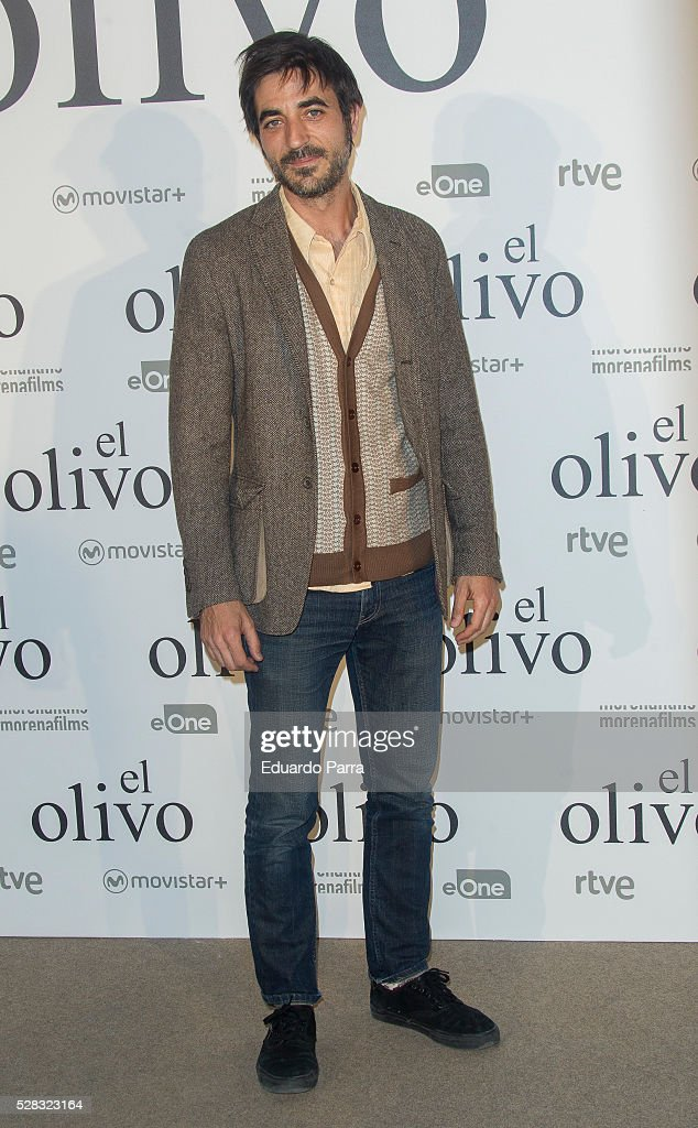 Pau Colera attends 'El olivo' premiere at Capitol cinema on May 04, 2016 in Madrid, Spain.