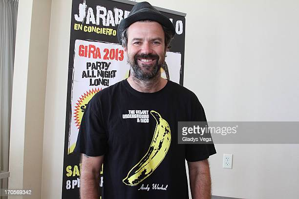 Pau Dones singer of Jarabe de Palo attends a press conference at Caribe Hilton Hotel on June 14 2013 in San Juan Puerto Rico